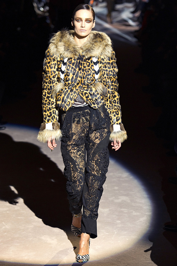 London, catwalk, runway show, review, critic, fall winter 2013, tom ford