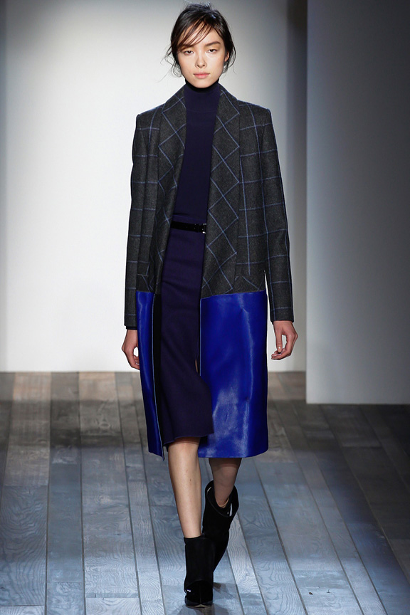 New York, catwalk, runway show, review, critic, fall winter 2013, victoria beckham, celebrity fashion