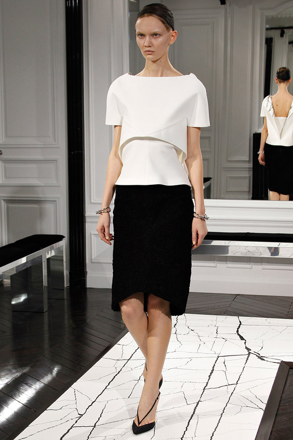 Paris, catwalk, runway show, review, critic, fall winter 2013, balenciaga, alexander wang