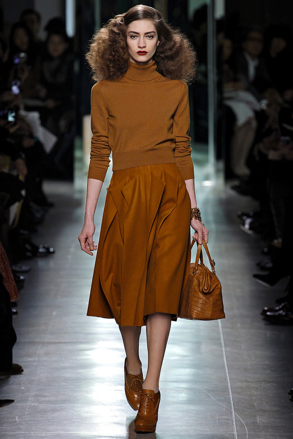 Milan, catwalk, runway show, review, critic, fall winter 2013, bottega veneta