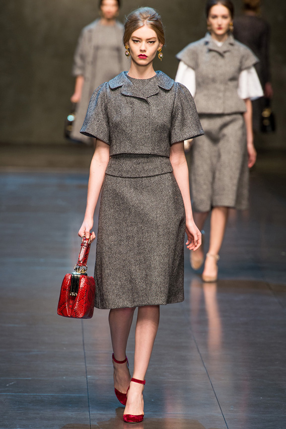 Milan, catwalk, runway show, review, critic, fall winter 2013, dolce & Gabbana