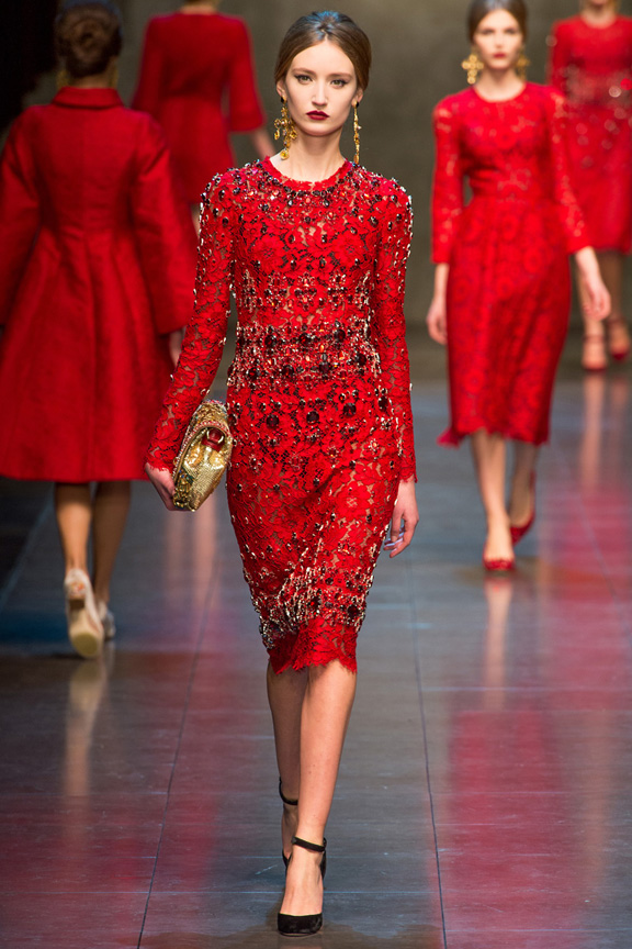 Dolce And Gabbana Red Dress - RP Dress