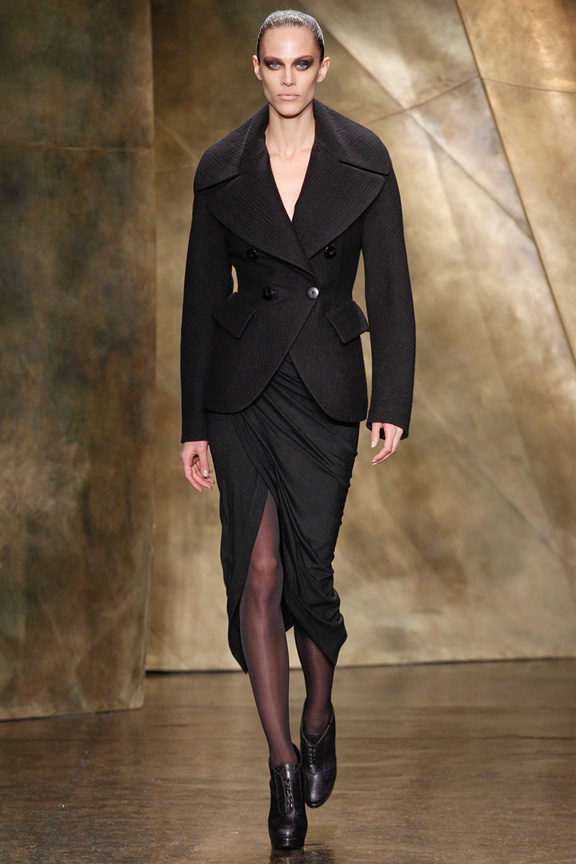 New York, catwalk, runway show, review, critic, fall winter 2013, donna karan