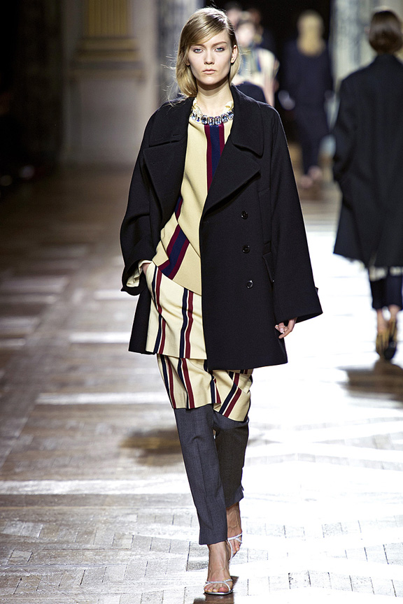 Paris, catwalk, runway show, review, critic, fall winter 2013, dries van noten