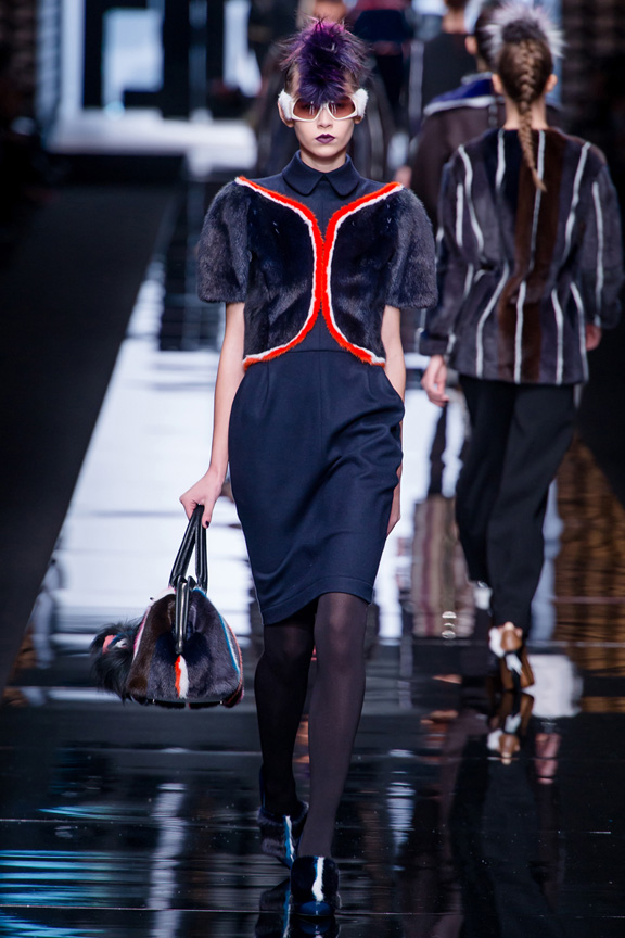 Milan, catwalk, runway show, review, critic, fall winter 2013, fendi, karl lagerfeld