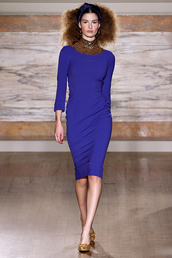London, catwalk, runway show, review, critic, fall winter 2013, L'Wren Scott