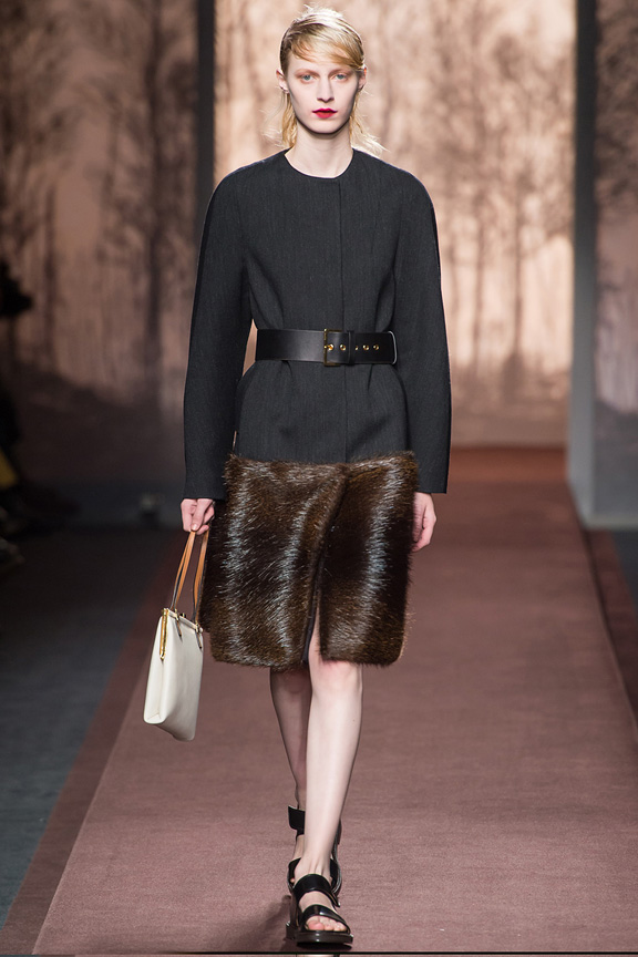 Milan, catwalk, runway show, review, critic, fall winter 2013, marni