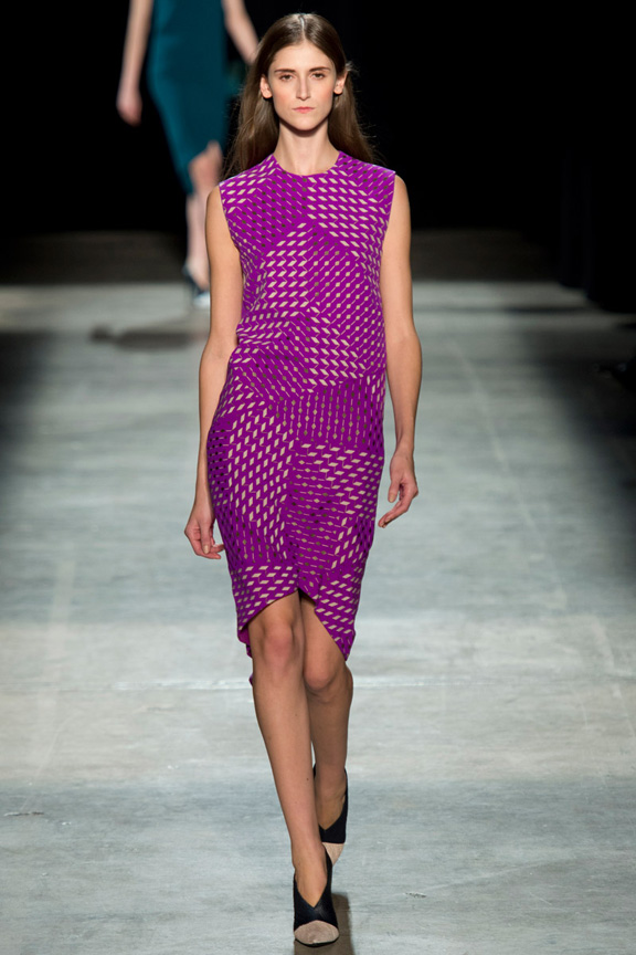 New York, catwalk, runway show, review, critic, fall winter 2013, narciso rodriguez