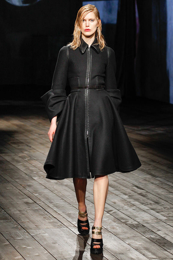 Milan, catwalk, runway show, review, critic, fall winter 2013, prada
