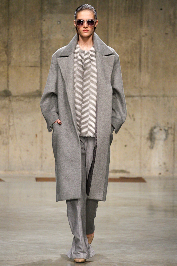 London, catwalk, runway show, review, critic, fall winter 2013, Richard nicoll