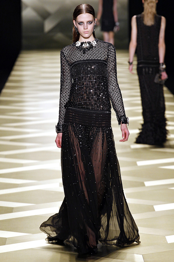 Milan, catwalk, runway show, review, critic, fall winter 2013, roberto cavalli