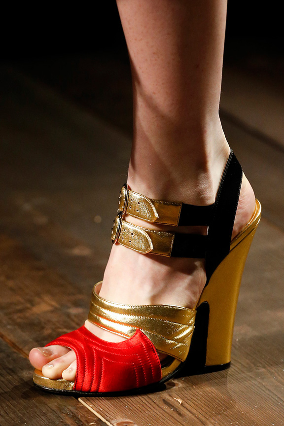 Milan, catwalk, runway show, review, critic, fall winter 2013, shoes, prada