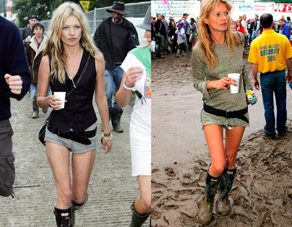 festival fashion, coachella, kate moss