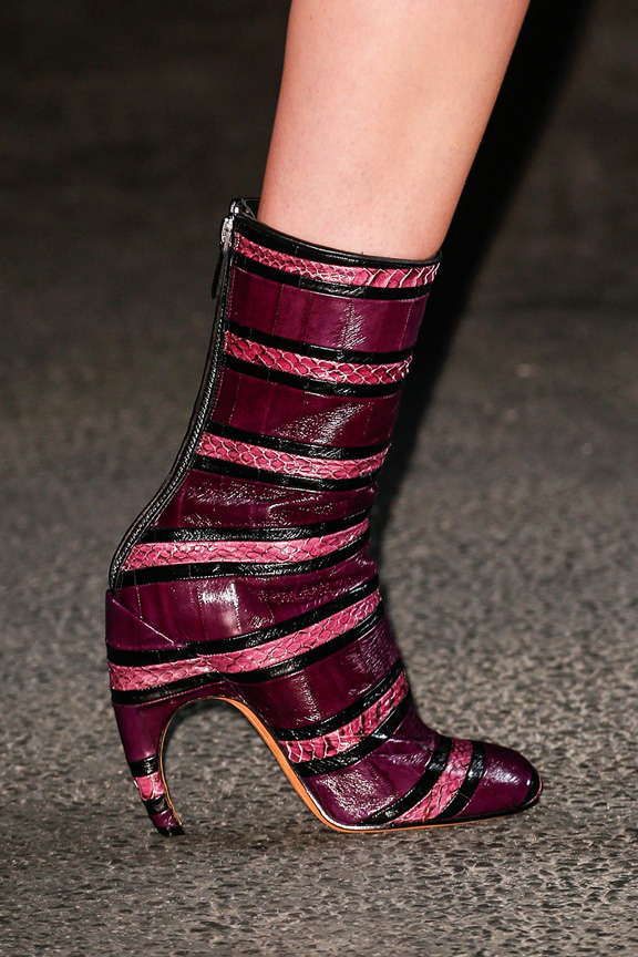 Paris, catwalk, runway show, review, critic, fall winter 2013, shoes, givenchy