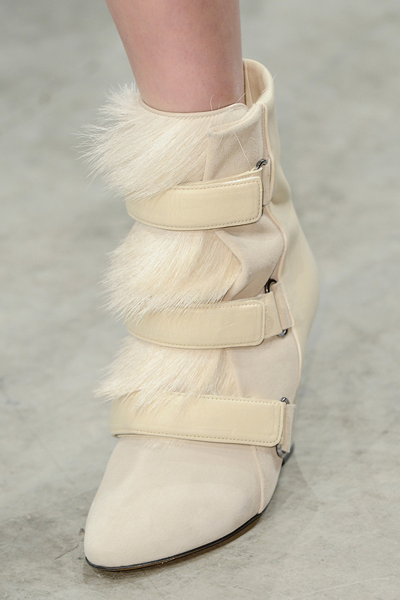 Paris, catwalk, runway show, review, critic, fall winter 2013, shoes, isabel marant