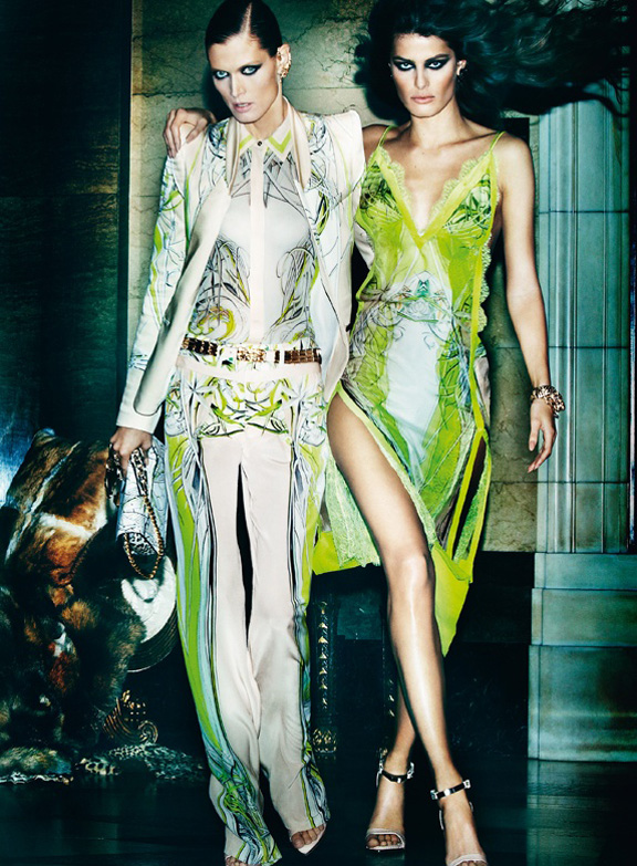 fashion magazines, fashion photography, ad campaign, advertising, roberto cavalli