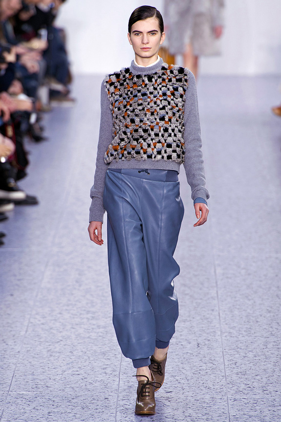 Paris, catwalk, runway show, review, critic, fall winter 2013, chloe