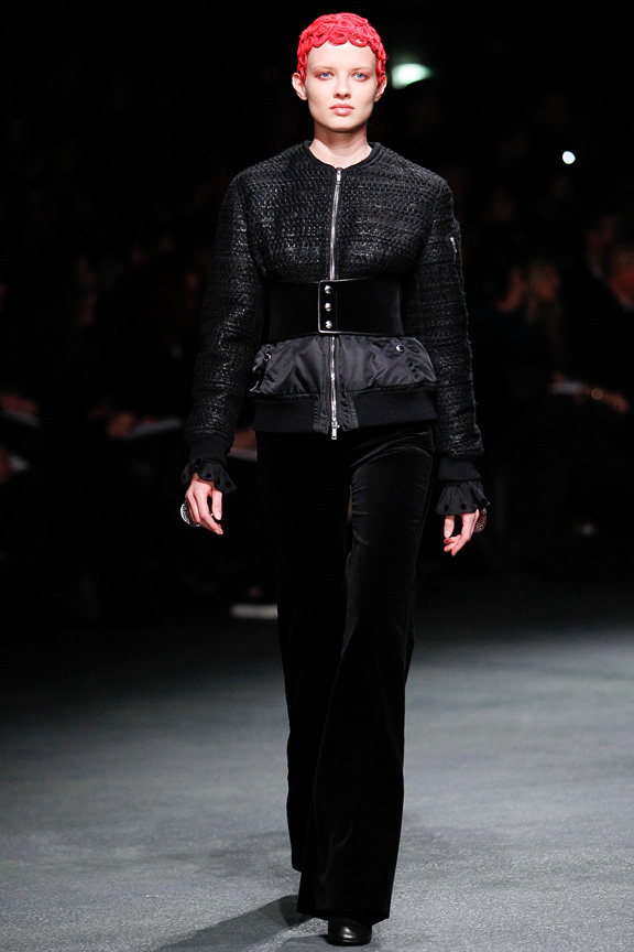 Paris, catwalk, runway show, review, critic, fall winter 2013, givenchy