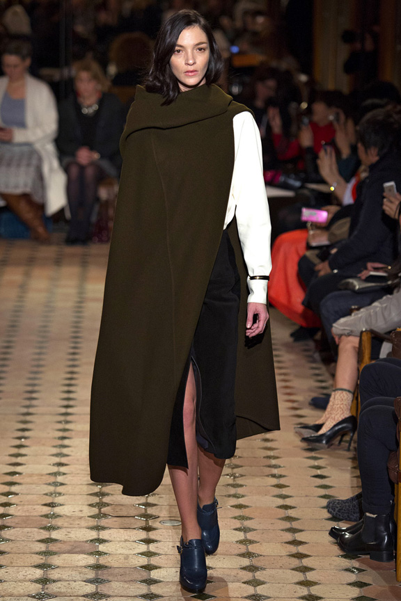 Paris, catwalk, runway show, review, critic, fall winter 2013, christophe lemaire