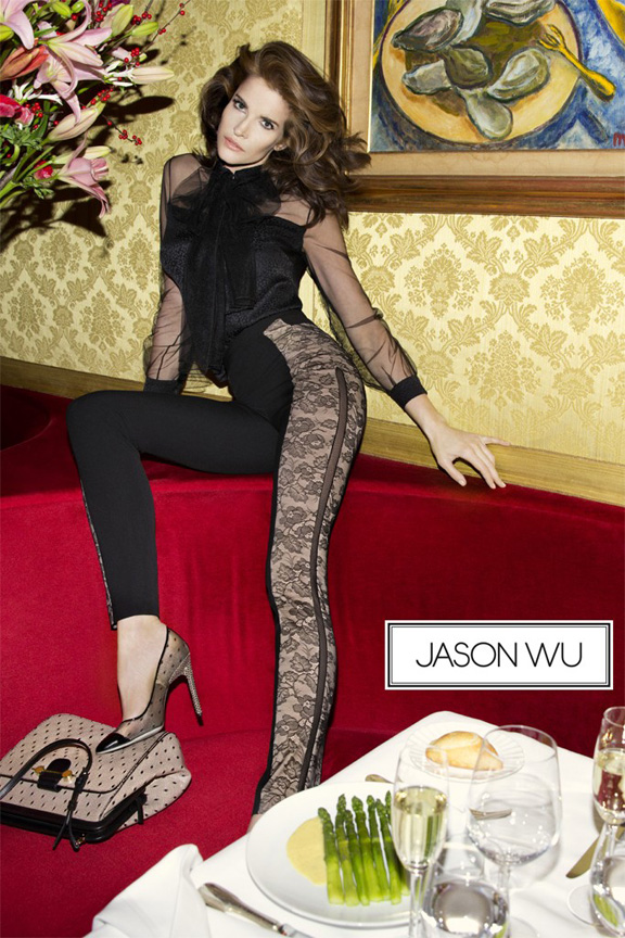 fashion magazines, fashion photography, ad campaign, advertising, stephanie seymour, jason wu