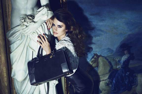 fashion magazines, fashion photography, ad campaign, advertising, penelope cruz, loewe