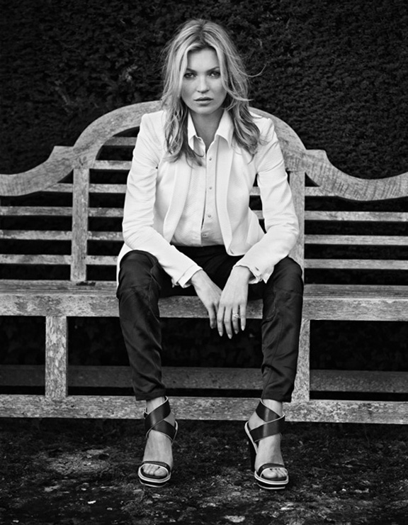 fashion magazines, fashion photography, ad campaign, advertising, kate moss, rag & bone