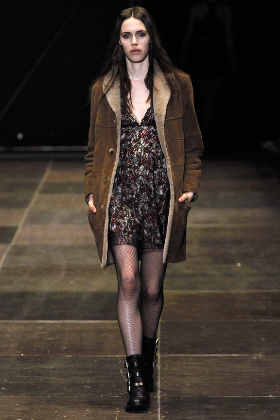 Paris, catwalk, runway show, review, critic, fall winter 2013, saint laurent, hedi slimane