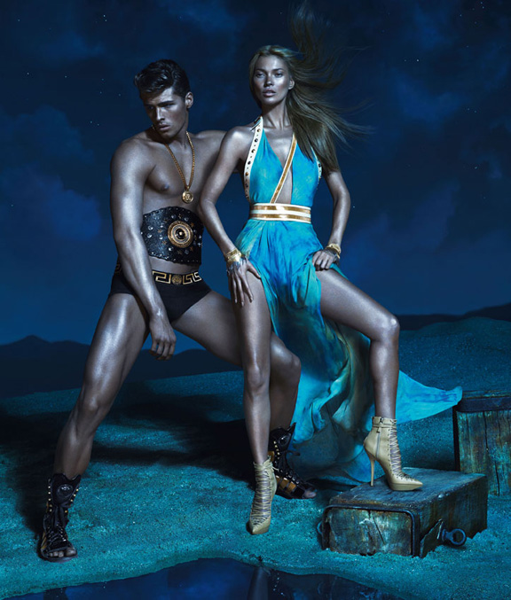 fashion magazines, fashion photography, ad campaign, advertising, versace, kate moss
