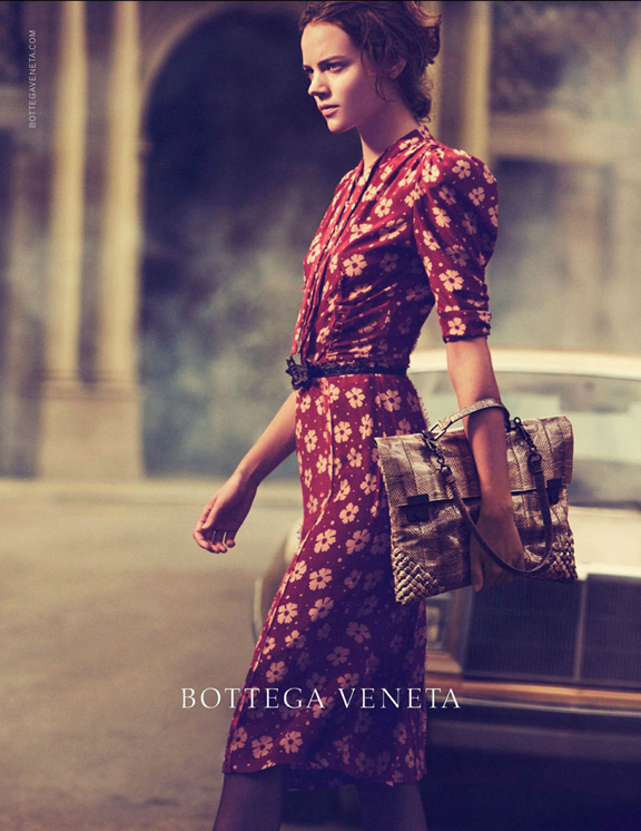 fashion magazines, fashion photography, ad campaign, advertising, peter lindbergh, bottega veneta