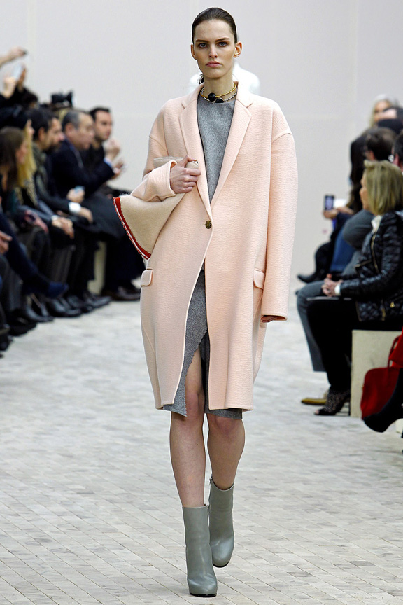 Paris, catwalk, runway show, review, critic, fall winter 2013, celine