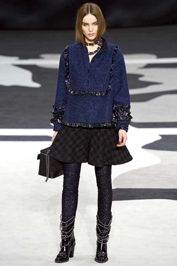 Paris, catwalk, runway show, review, critic, fall winter 2013, chanel, karl lagerfeld