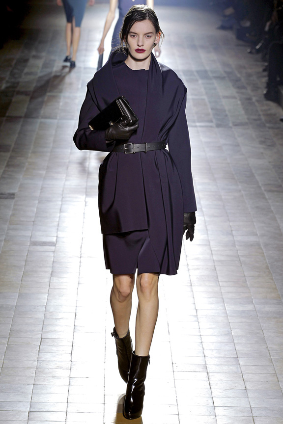 Paris, catwalk, runway show, review, critic, fall winter 2013, lanvin