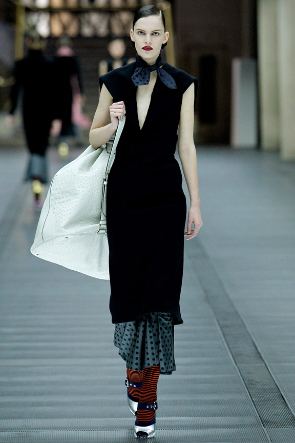 Paris, catwalk, runway show, review, critic, fall winter 2013, miu miu