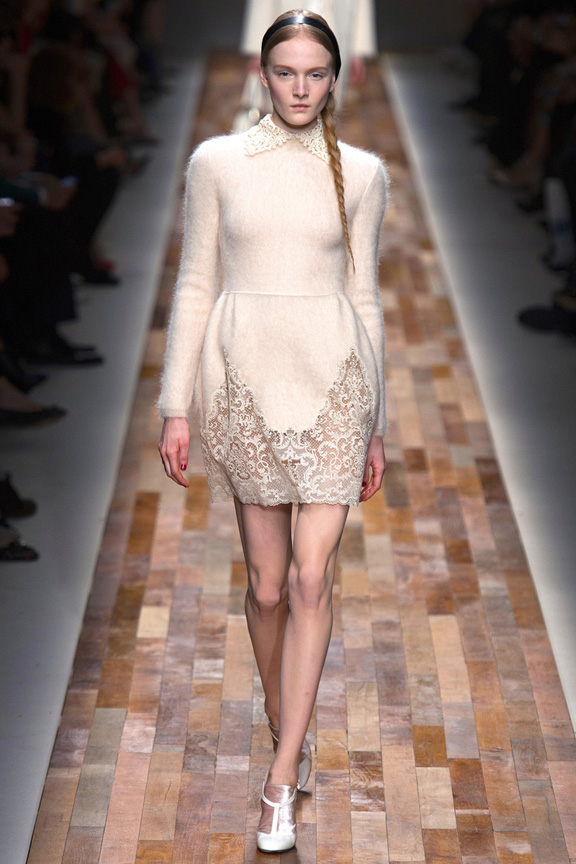 Paris, catwalk, runway show, review, critic, fall winter 2013, valentino