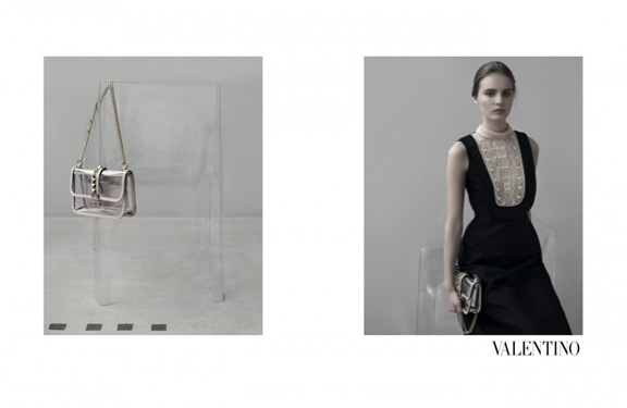 several models by Sarah Moon for Valentino. What a great choice of photographer.