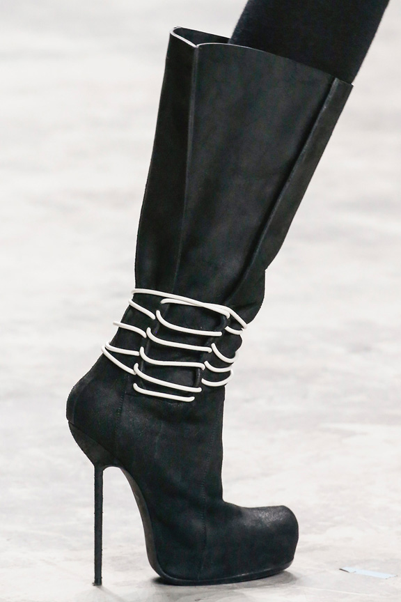 Paris, catwalk, runway show, review, critic, fall winter 2013, shoes, rick owens
