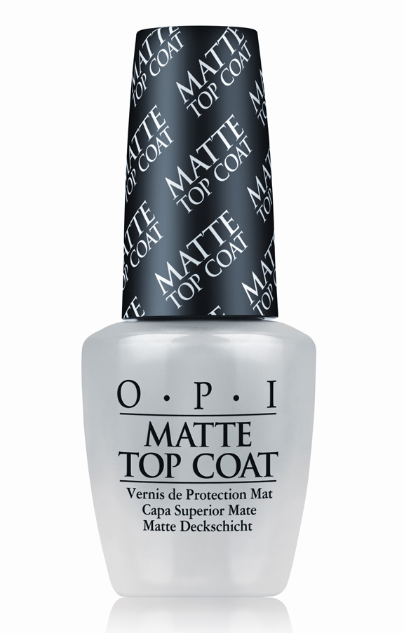 beauty brief, OPI, matte, topcoat, nail polish