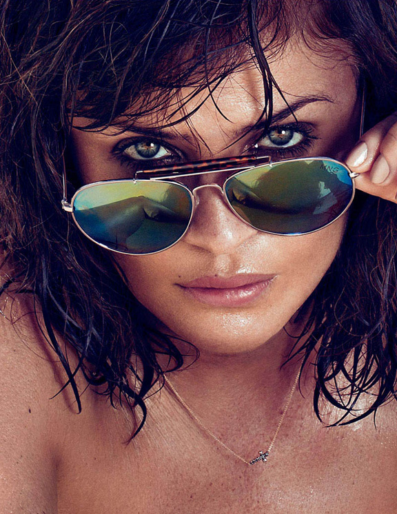 helena christensen, pretty pictures, super model, elle spain, fashion photography, magazines