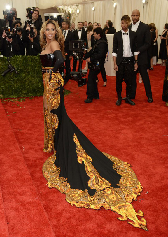 met gala, ball, red carpet, celebrities, evening wear, beyonce, givenchy