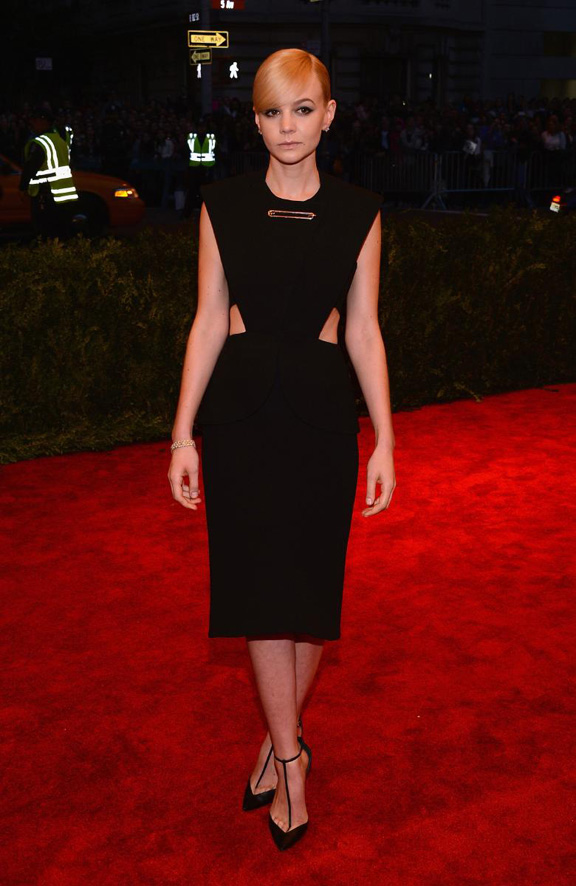met gala, ball, red carpet, celebrities, evening wear, carey mulligan, balenciaga