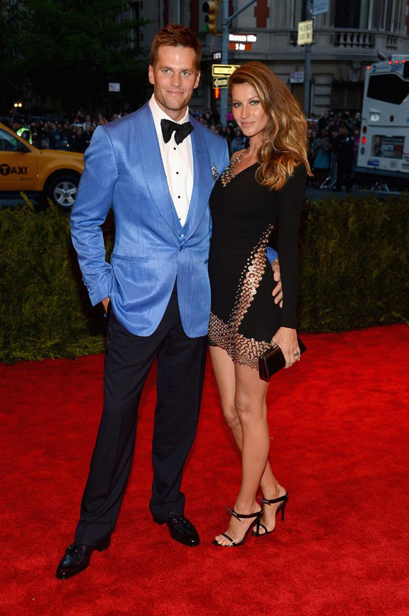 met gala, ball, red carpet, celebrities, evening wear, gisele bundchen, anthony vaccarello