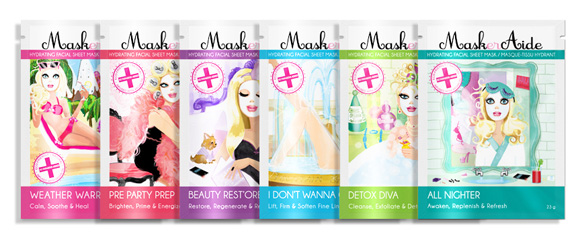 maskeraide, face mask, beauty brief