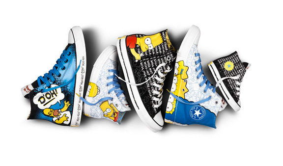 converse, the simpsons, loathe, iconic shoes, chuck taylor