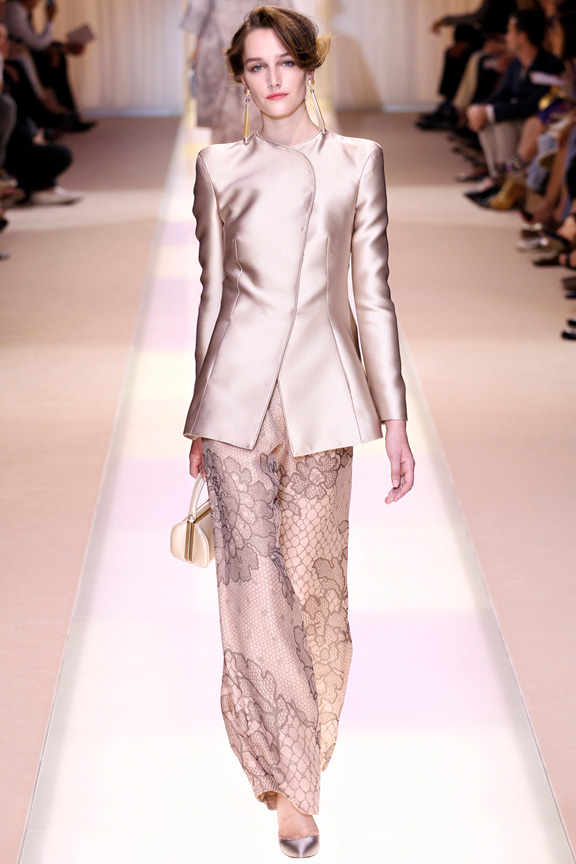 Paris, catwalk, runway show, review, critic, fall 2013, haute couture, armani prive