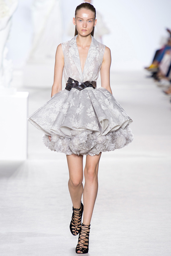 Paris, catwalk, runway show, review, critic, fall 2013, haute couture, giambattista valli