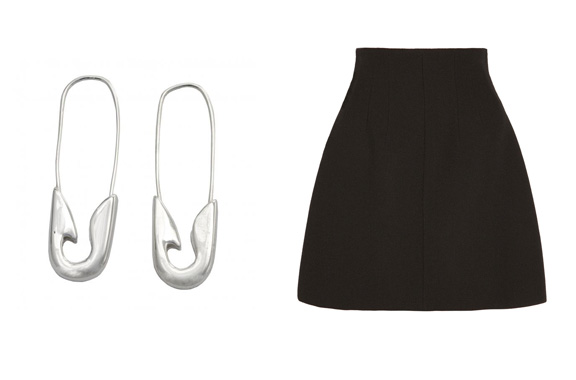 earrings.TomBinns.miniskirt.MiuMiu