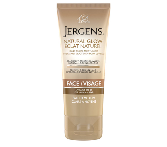 jergens, fake tan, beauty brief, sunless tanner