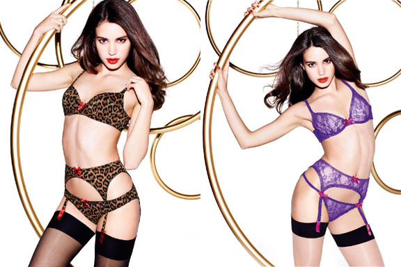 L'agent by agent provocateur, penelope cruz, monica cruz, celebrity designers, pregnant celebrities, celebrity collaborations