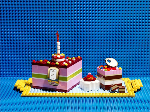 Fabrice Fouillet, pretty pictures, lego, food