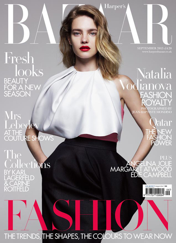 september issue, fashion magazines, fashion photography, Harper's Bazaar